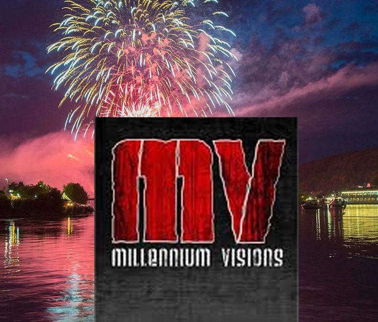 Millennium Visions Ortenburg Feuerwerk Hochzeit